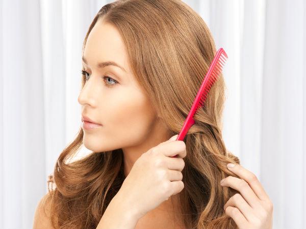 Peina tu cabello en lugar de cepillarlo