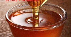 Mie de abeja para el cabello