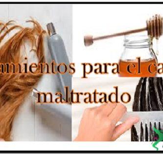 tratamienros para el cabello maltratado