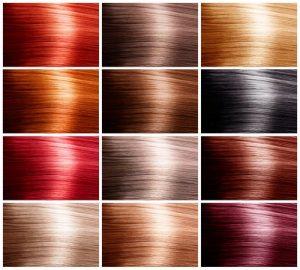 colores de tinte para el cabello