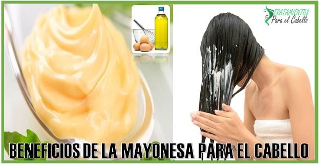 Para que sirve la mayonesa en el cabello