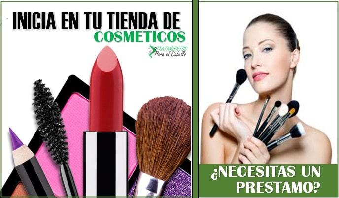 Invierte en una tienda de maquillaje