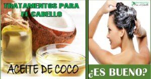 beneficios del aceite de coco para el cabello